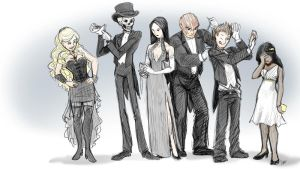 Skulduggery Pleasant - White Tie by jameson9101322