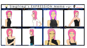 Expression Meme - Yuki by CADFND
