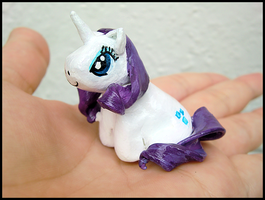 Rarity Figure by GrandmaThunderpants