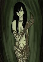 Lady of the Forest by KeybladerNyaro