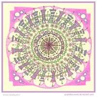 Cute Mandala Collab by Quaddles-Roost