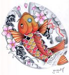 baby koi by graynd