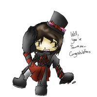 Another pic of my Persona. ono by Uxiethecat