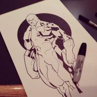 Guardian (Alpha Flight) WIP by F3DDA