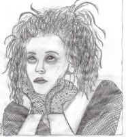 Mrs. Lovett 1st Drawing by Nina-Lovett