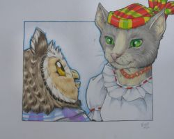 Owl and Pussycat-- better pic by EvanStanley