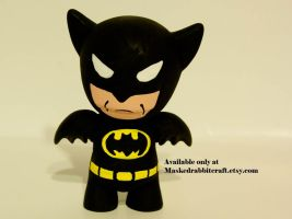 Batman Toy by maskedrabbitcrafts