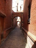 Church Path2 by Comacold-stock