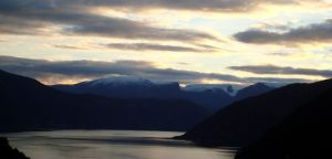 Sognefjord Sunset by dwarfeater