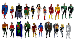 DC Comics (My Multiverse in DCAU Style) by CamiloSama