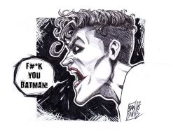 Joker pissed off by michelebandini