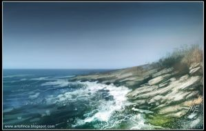 Sea coast by Tsabo6