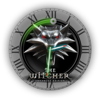 The-Witcher Clock 1.1.1 by drakullas