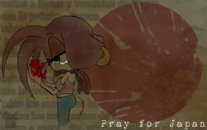 Pray for Japan by Vic-the-Mouse