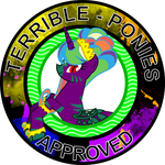Terribleponies approves by strawbellycake