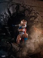 POWER GIRL IN TROUBLE by isikol