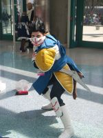 Vegeta Cosplayer by stormx6