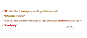 Love makes you Blind by Demachic