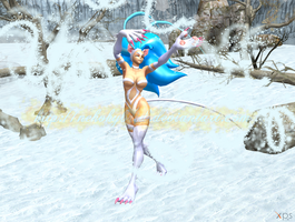 Felicia the Snow Dancer by NekoHybrid
