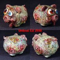 Rot Piggy plague Bank OOAk by Undead-Art