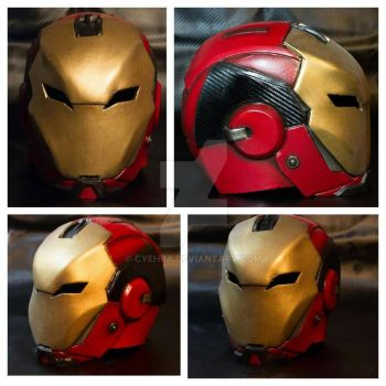 Marvel Iron (Wo) Man / Pepper's Rescue Fandesign by cyehra