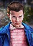 Eleven - Stranger Things by laracremon