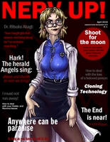 Nerd Up 3 (Ritsuko/Evangelion) by CaptainMetal