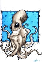Happy Octopus by dsilvabarred