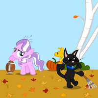 Diamond and Dazzle: Fall by MagerBlutooth
