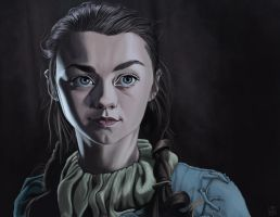 Arya Stark by storymancer