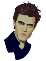 stefan salvatore vector by 3sq