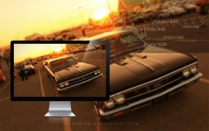 Chevrolet Chevelle Wallpaper by SukhRiar