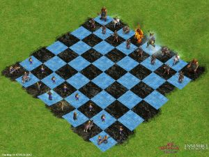 Age of Mythology Chess: Norse Setup
