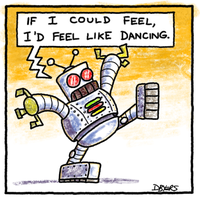 Dancing Robot by dbdoodles