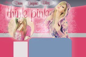 Avril Lavigne ThinkPink Layout by GiraffeAndy