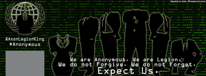 Anonymous Facebook Cover by KingHusky