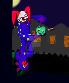 Spooky the Clown by LuuizFlorz