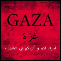 GAZA by GoldenDune