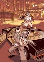 Riding Shotgun volume 1 cover by Yardley