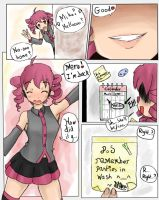 Volcaloid Shrink Comic - Spying on Miku p3 Colour by teniko