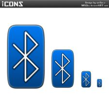 Bluetooth icon by MGQsy