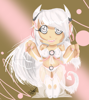 White Succubus by SometimesCats