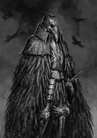 Crow Knight by Rotaken