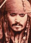 Jack Sparrow - Cross Stitch by shingorengeki