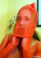 Netted Kathy 2 by NylonKat
