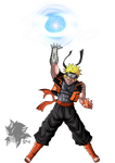 DBverse Naruto (Sage Mode) by MAD-54