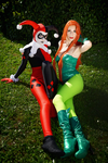 DC - Poison Ivy and Harley Quinn 02 by Itasil