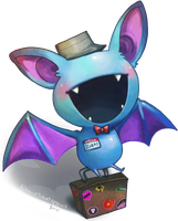 Smile, Zubat by Wasil