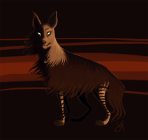 Brown Hyena, yo by lilowlaroo