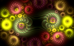 pattern with coloured glass swirls by Andrea1981G